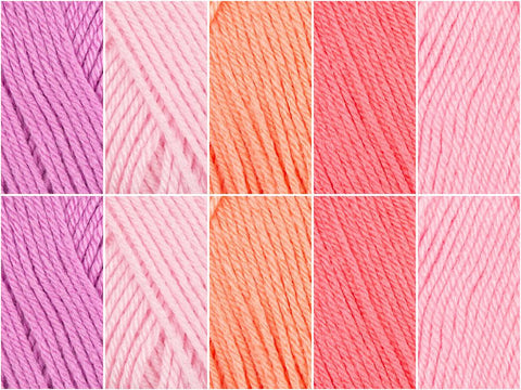 Penny Sweets Colour Pack in Deramores Studio Baby Soft DK