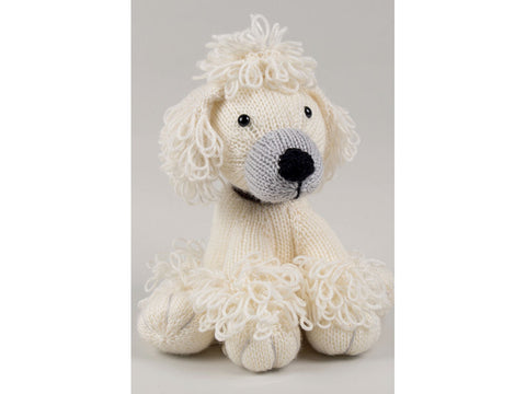 Knitted Dera-Dogs - Poodle & Spaniel by Amanda Berry in Deramores Studio DK