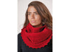 Poppy Cowl Corchet Kit and Pattern in Patons Yarn