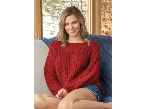 Porlock Knitting Kit and Pattern in Rowan Yarn