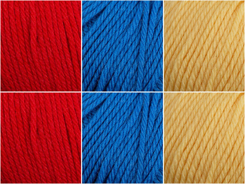 Yarn Stories Fine Merino DK Primary Colour Pack