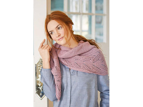 Ida Scarf in Rowan Cotton Cashmere