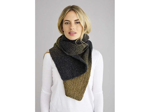 Marley Scarf in Rowan Brushed Fleece