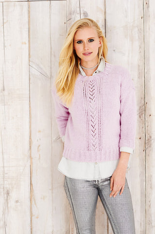 Womens Sweater and Jacket in Stylecraft Jeanie Aran (9492)