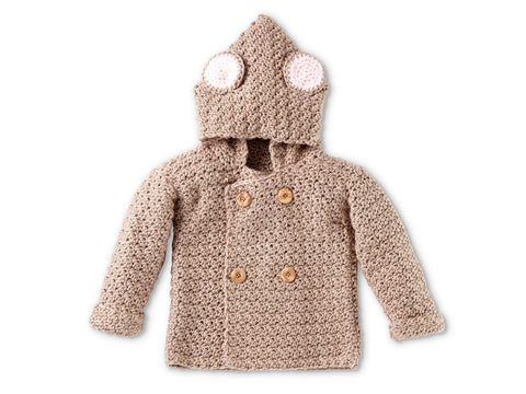 Mousie Hoodies Crochet Baby Kits