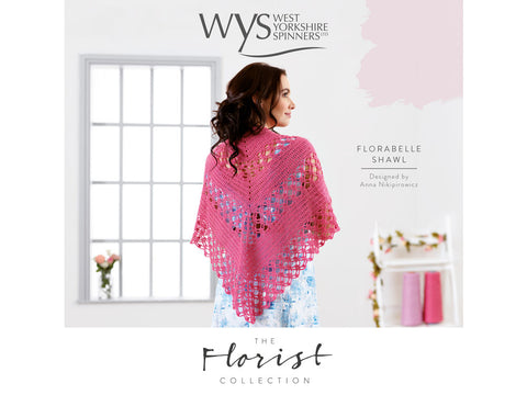 Florabelle Crochet Shawl In West Yorkshire Spinners Signature 4 Ply