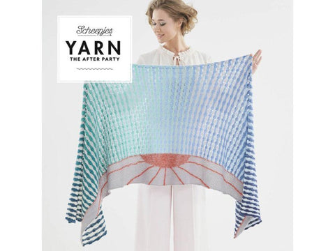 YARN The After Party 30 - Crochet Kit and Pattern Alto Mare Wrap