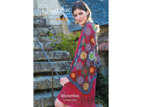 Menerbes Crochet Kit and Pattern in Rowan Yarn