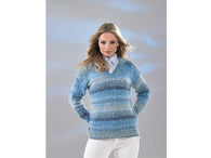 Ladies Sweater in James C. Brett Northern Lights (JB511)