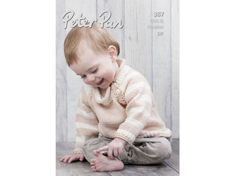 Peter Pan Baby Cotton DK Baby Book (387)