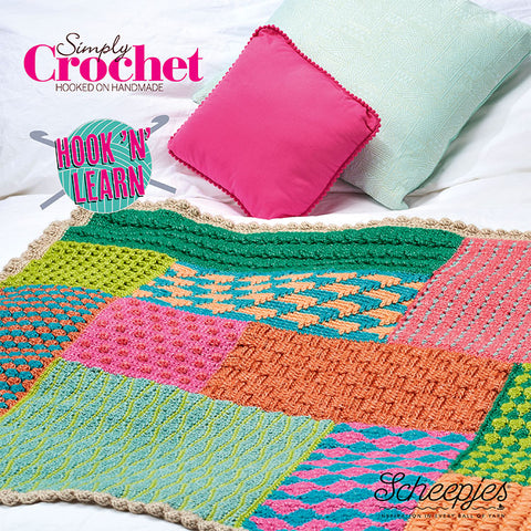 Simply Crochet Hook 'n' Learn CAL by Lucy Croft