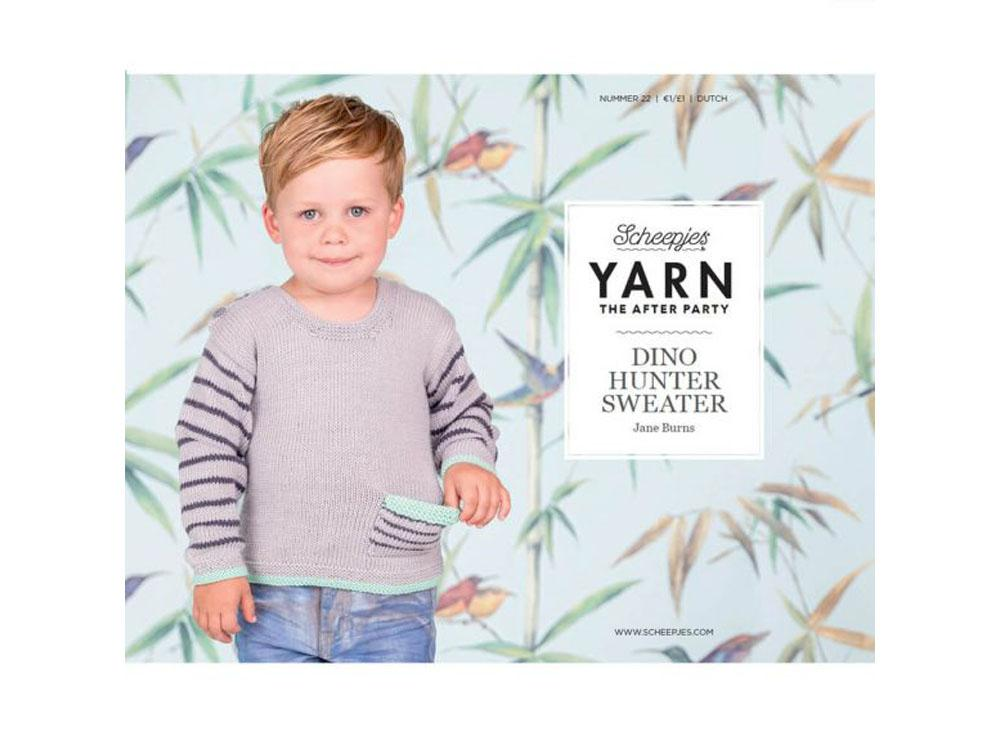 279988c92 YARN The After Party 22 - Dino Hunter Sweater – Deramores US