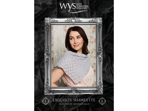 Exquisite Shawlette in West Yorkshire Spinners Exquisite Lace