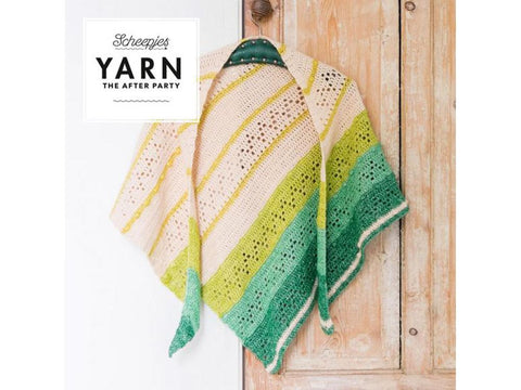 YARN The After Party 23 - Crochet Kit and Pattern Forest Valley Shawl