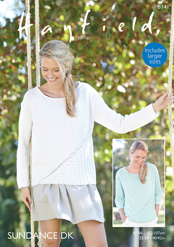 Woman's Tops in Hayfield Sundance DK Kit