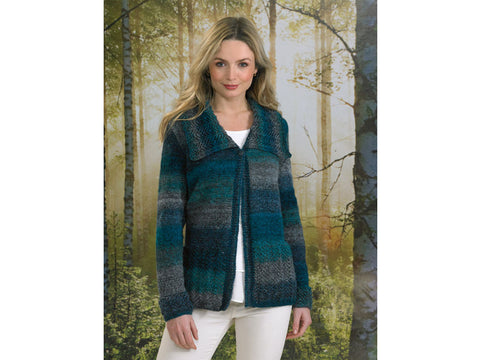Ladies Jacket in James C. Brett Landscape DK (JB494)