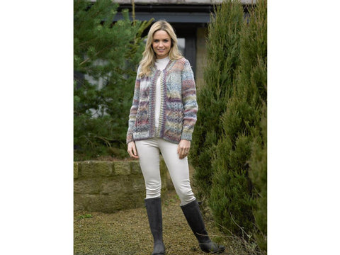 Ladies Jacket in James C. Brett Marble Chunky (JB498)