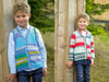 Boys Cardigan & Waistcoat in James C. Brett Fairground DK (JB485)