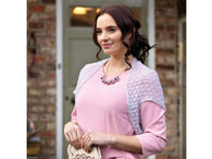 Penelope Lace Shrug in West Yorkshire Spinners Exquisite Lace