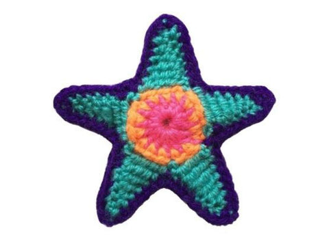 Crocheted Star Crochet Kit and Pattern in Cygnet Yarn