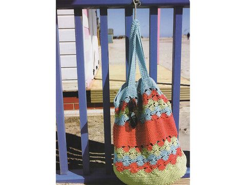 Making Waves Crochet Beach Bag Crochet Kit and Pattern in Rico Design Yarn