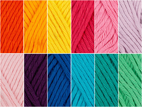 Rico Design Creative Cotton Aran Circus Colour Pack