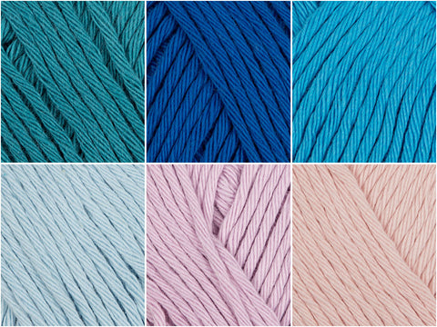 Rico Design Creative Cotton Aran Moonlight Colour Pack
