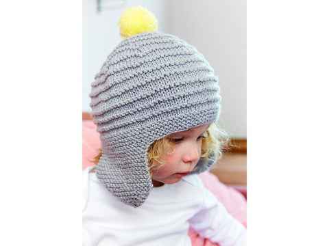 Rocket Hat in Patons Baby Smiles Fairytale Fab DK
