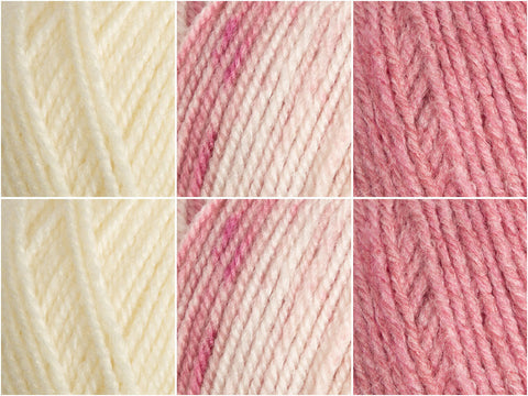 Stylecraft Life DK & Life Changes DK Roses Colour Pack