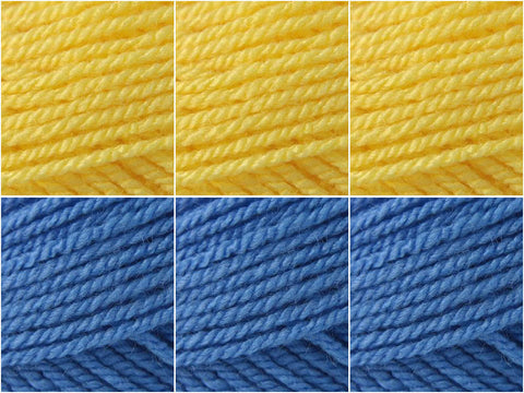 Flag of Sweden Colour Pack in Stylecraft Special DK