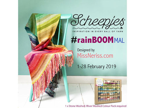 RainBOOM MAL by MissNeriss in Scheepjes Yarn