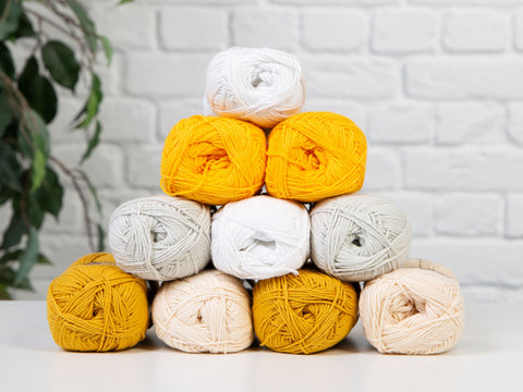 Moonrise Colour Pack in Scheepjes Cotton 8