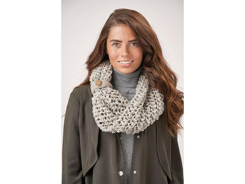 Sharon Cowl in Patons Wool Blend Aran