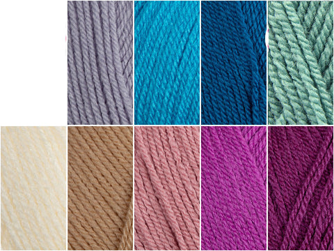 Stylecraft Special DK Sherbet Ripple Colour Pack by Hannah Cross