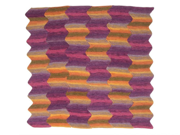 Hayfield Spirit Dk Knitted Blanket Kit Yarn And