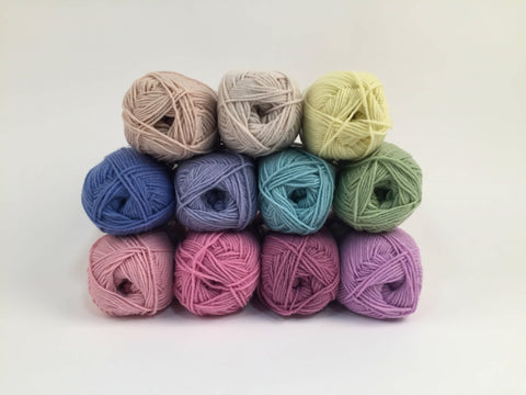 Sirdar Snuggly DK Vintage Rainbow Colour Pack