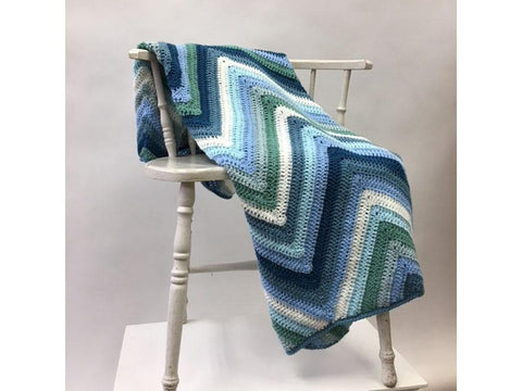 Soulful Sierra Blanket Crochet Kit and Pattern in Scheepjes Yarn