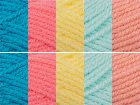 Sour Sweets Colour Pack in Cygnet Yarns Little Ones A-Z DK
