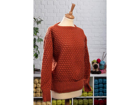 Spicy Sweater Crochet Kit and Pattern