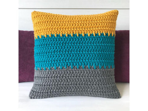 Spiky Cushion Crochet Kit and Pattern