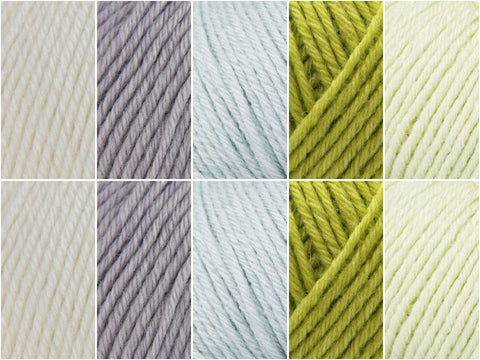 Rowan Baby Merino Silk DK Spring Time Colour Pack