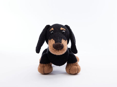 Stanley the Dachshund - Dera-Dogs Knitting Digital Pattern