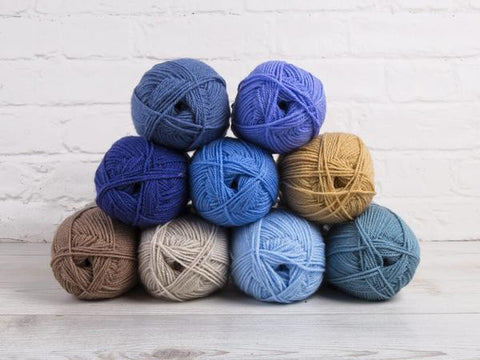 Stylecraft Special DK Baby Boy Large Colour Pack (with a choice of Free Pattern)