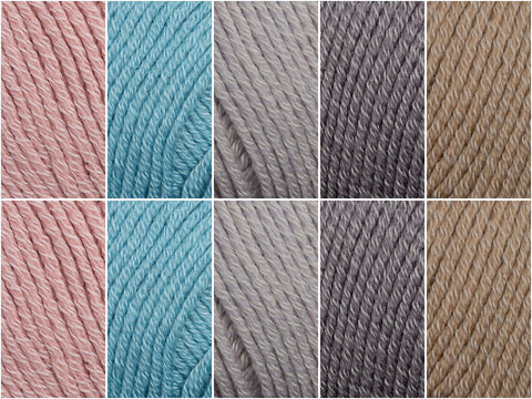 Muted Tones Colour Pack in Sublime Isabella