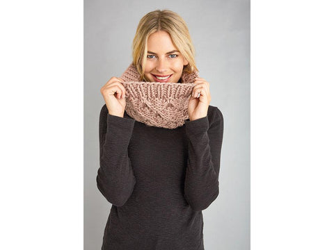 Suzie Cowl in Patons Fab Big