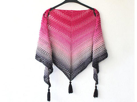 This is Me Shawl Crochet Kit and Pattern in Scheepjes Yarn