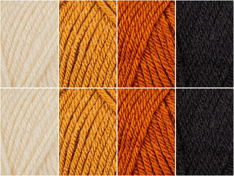 Tiger Stripes Colour Pack in Lion Brand Vanna's Choice