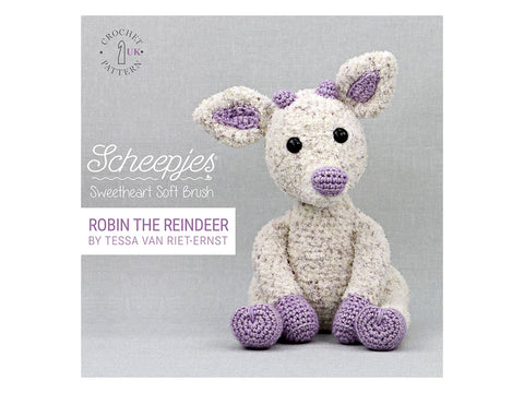 Robin The Reindeer Crochet Kit and Pattern in Scheepjes Yarn (62736)