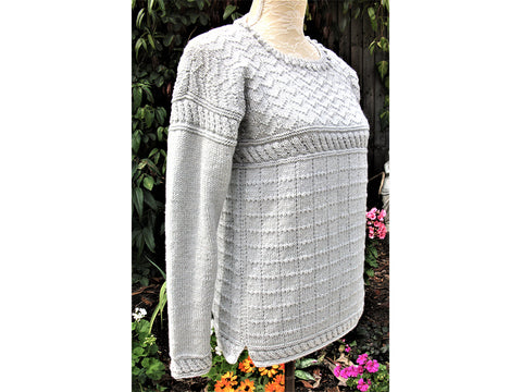 Staithes Design Knitting Kit and Pattern in King Cole Yarn