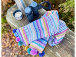 Highland Heathers Scarf Digital Pattern Only